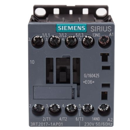 Contactor Siemens Model:3RT2017-1AP01